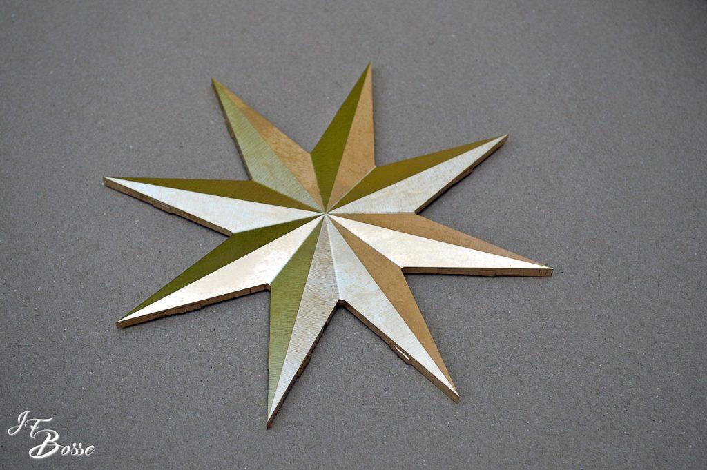 Usinage d'une étoile en laiton