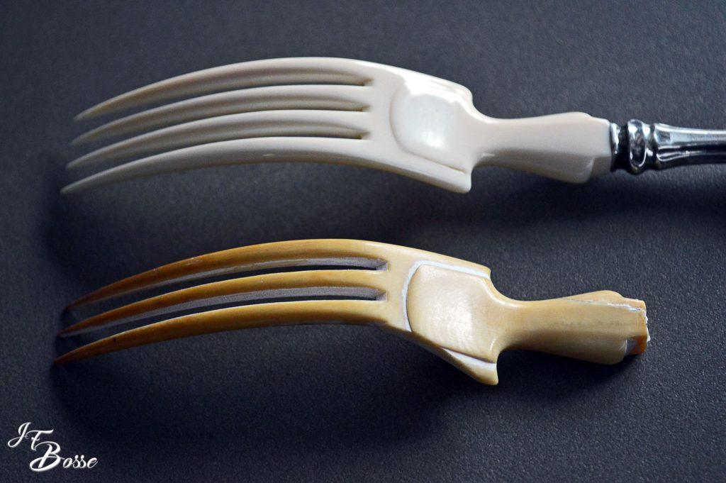 Reproduction à l'identique d'une fourchette