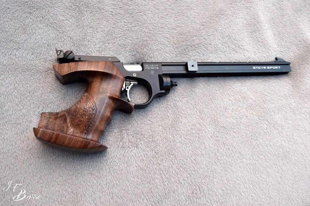 Poignet de pistolet